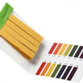 Лакмусовая бумага для проверки кислотности теплоносителя