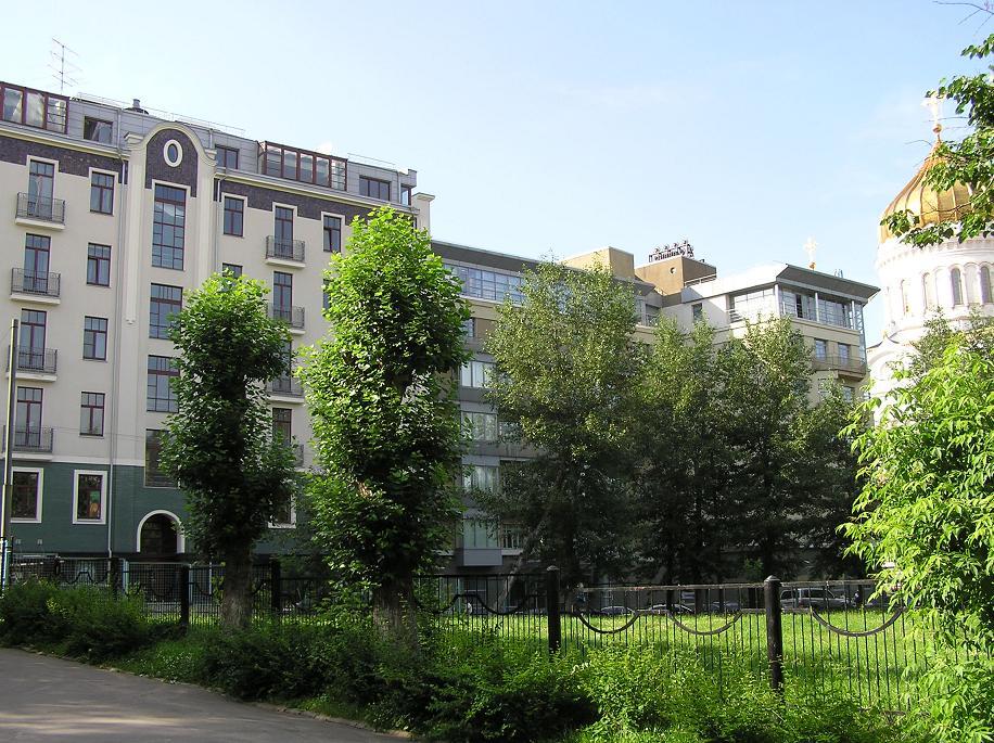 Элитный клубный дом по адресу 3-й Обыденский пер. д.2