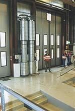 Воздушно-тепловая завеса: конструкция, применение